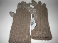 Women's Grandoe WarmTouch Cashmere Lambswool Knit Gloves Touchscreen Compatible