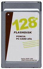 New Gigaram 128MB PCMCIA ATA Flash Card (Sandisk p/n SDP3B-128)