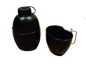 Water Bottle and Cup - 58 pattern Water Bottle and Cup - British Army - used