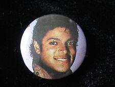 Michael Jackson-Pin-Badge-Button-80's Vintage-Rare