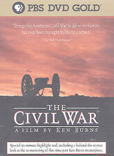 The Civil War: A Film Directed By Ken Burns (DVD, 2002, 5-Disc Set) RARE-OOP
