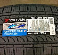 4 New 265 60 18 Yokohama Geolandar H/T G056 Tires