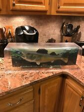 Fish Tales pinball topper complete light board,coil,fish,dome,and back board