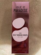 Isle of Paradise Dark Self Tanning Drops 30ml New