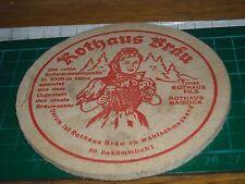 sottobicchiere beer mats birra bierdeckel 040317 ROTHAUS BRAU