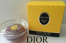 100% AUTHENTIC SEALED DIOR Dolce Vita VINTAGE PERFUMED SOAP SAVON&Luxury STAND