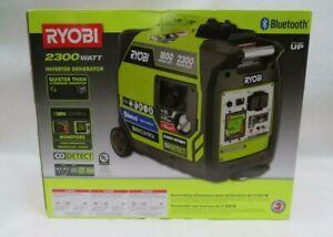 Ryobi Recoil Start Bluetooth GasolinePowered Digital Inverter Generator