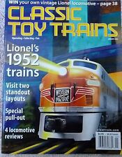 N.O.S. Classic Toy Trains  January 2002