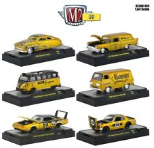 1:64 M2 Machines *MOONEYES HOBBY EX S69* COMPLETE SET of 6 *CHANCE AT CHASE* NIB