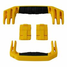 New Pelican Yellow 1510 / 1560 replacement latch (2) & handles (2) kits.