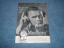 """1956 Marlboro Cigarette's Vintage Ad """"You Get A Lot to Like...."""""""