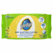 2 x Pledge Dry Dusting Cloths Citrus (20 per pack)