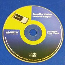 ⭐️⭐️⭐️⭐️⭐️ Linksys RangePlus Wireless Notebook Adapter WPC100