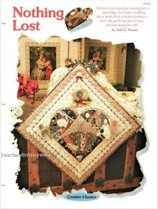 Nothing Lost  Creative Scrap Wall Quilt Pattern Leaflet