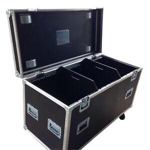 Ultrasonics GP Road Cable Trunk Flight case 1220 x 550 x 620 Truck Pack