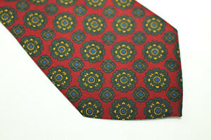 HOLLIDAY BROWN Silk tie Made in Italy F16193
