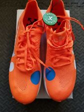 1062832e8af811 Nike Zoom Fly Mercurial Off-White Total Orange - AO2115 800 Size 10 NEW