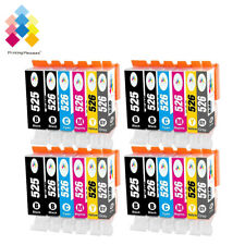 24 Ink Cartridges For Canon Pixma MG6220 MG8220 MG6150 MG6250 with Grey