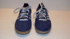 Vintage Adidas Samba Hemp Blue Soccer Shoes US Men's Size 5 Women's 6