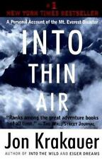 Into Thin Air: A Personal Account of the Mt. Everest Disaster by Krakauer, Jon