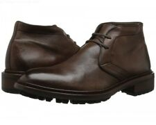 To Boot New York Clemmons Brown Deerskin Leather Chukka Lace Up Boots Size 10.5