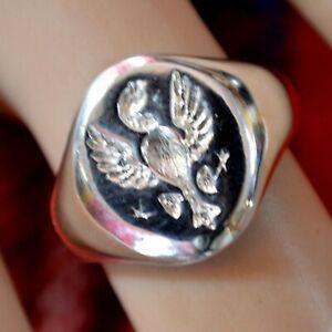 sterling silver new Phoenix ring