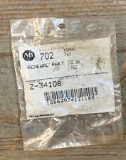 ALLEN BRADLEY Z-34108 BULLETIN 702 CONTACT KIT SIZE 20A 1 POLE NEW IN PACKAGE
