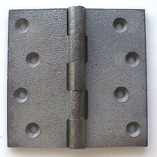 """Hinge Butt 100mm 4""""x 4"""" One Cast Iron Extended Parliament substitute UK c.detail"""