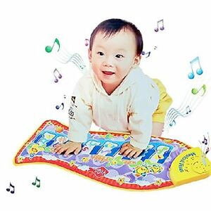Baby Kid Child Fish Shape Mat Touch Play Musical Singing Piano Game Carpet Mat