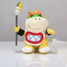 "Super Mario Figure 7""Koopa Jr. Bowser with Pen Stuffed Plush Toy Soft Doll X'mas"