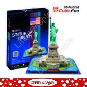 Statue of Liberty 39pc 3D Puzzle NEW FACTORY SEALED
