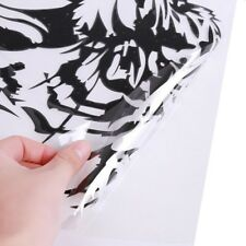 Cute Black Reflective Cool Tiger Body luggage Decal Car Window Graphic Sticker W