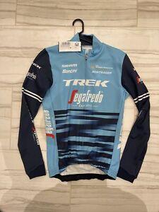TREK Segafredo santini LONG SLEEVE  Thermal cycling jersey Mens medium