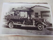 1936 STUDEBAKER  FIRETRUCK  11 X 17  PHOTO  PICTURE