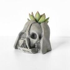 Darth Vader Skull Planter Mini - Concrete Star Wars Planter
