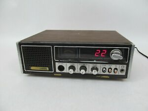 GE 3-5871A CB Transceiver Base Station Radio (Powers On) Vintage