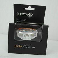 New in Box - cocoweb SpotEye Ultra Lightweight LED Headlamp 140 Lumens Max
