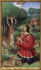 St Hubert (Patron Saint of Hunters) Prayer Card