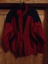 L.L. Bean Rugged Ridge Primaloft Down Womens M Med Red & Blue Coat