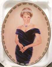 "Diana: Queen of Our Hearts Plate 4 ""A Very Special Princess"" Original Box w COA"