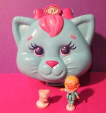 Polly Pocket Mini ♥ Süße Katze ♥ Cuddly Kitty ♥ 1993 ♥ 100% Komplett ♥