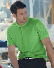 MENS COTTON POLO SHIRT Fruit of the Loom PREMIUM Pique UNBEATABLE PRICES