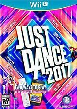 Just Dance 2017 (Nintendo Wii U, 2016) - NEW