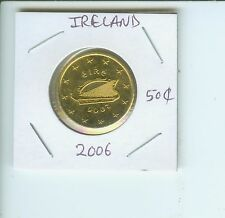 2006  IRELAND 50 Euro cents 50-€ cents coin !!