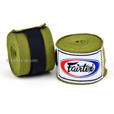Fairtex Hand Wraps 4.5M Olive Green HW2 Stretch Boxing Muay Thai Kickboxing