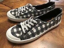 Women's Rocket Dog Black Check lace up sneakers NEW for Summer!! Size 11
