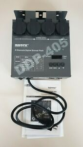 Botex DDP-405 4 Channels Digital Dimmer Pack inkl. Koffer