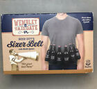 Wembley Quick Draw Sixer Beer Holder Belt with Opener Tailgaiting Party Football