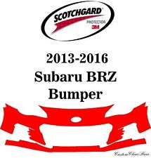3M Scotchgard Paint Protection Film Pre-Cut Fits 2013 2014 2015 2016 Subaru BRZ