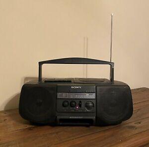 *NICE* Sony CFD-V10 Radio CD Cassette Player Recorder Boom Box Stereo